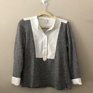 Like NEW J crew collared sweater medium